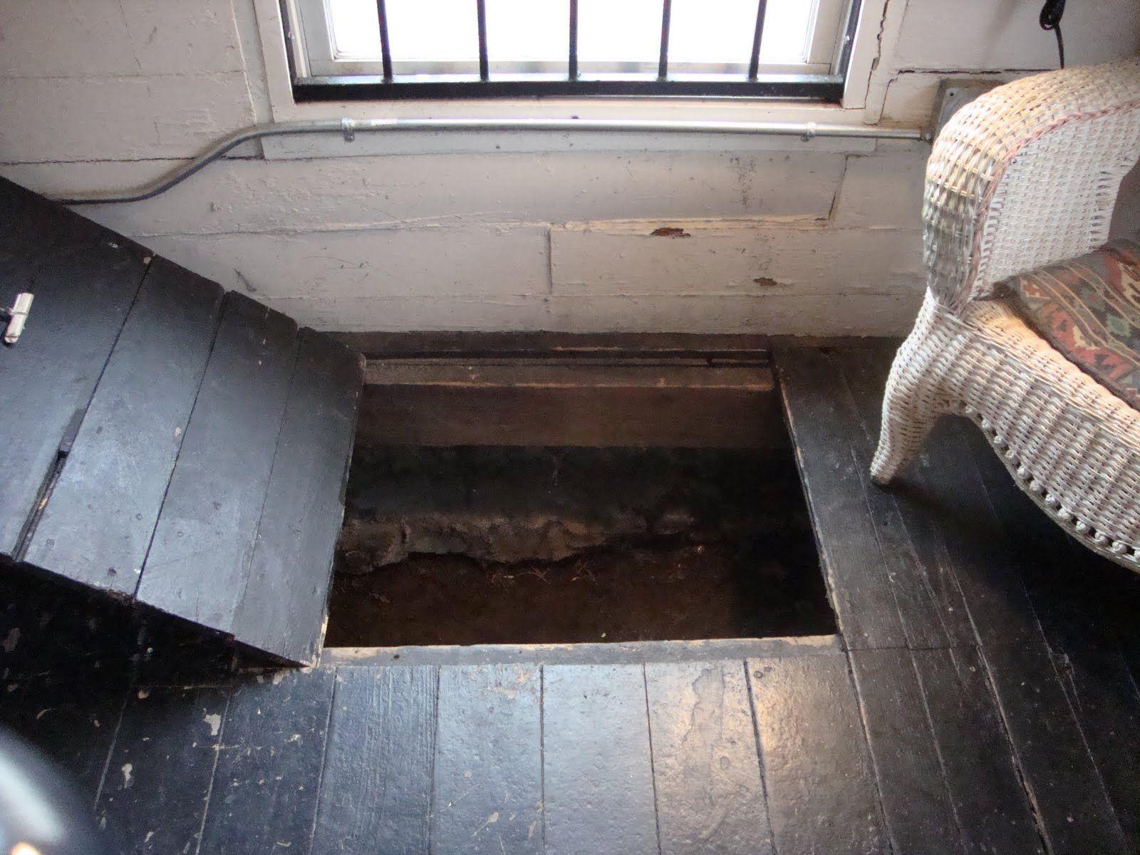 slavehaven at the burkle estate, an underground railroad safe