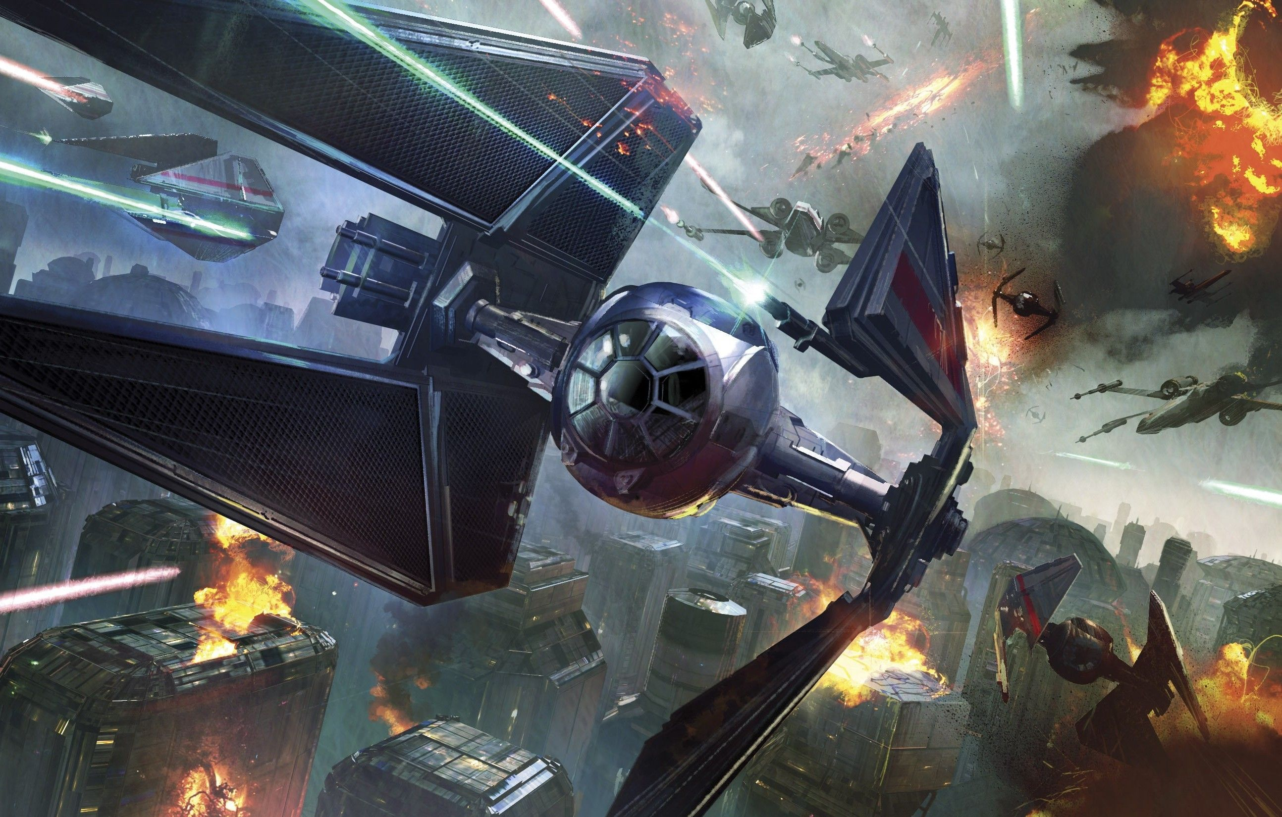 67+ Tie Fighter Wallpapers on WallpaperPlay Tie fighter