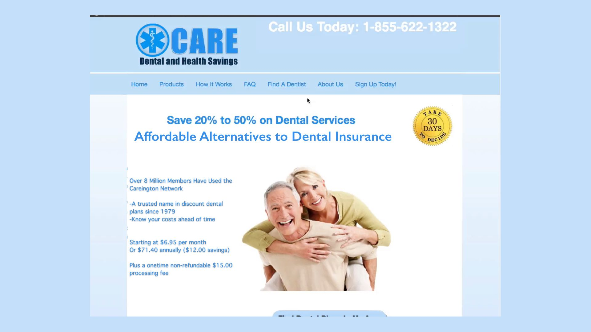 Affordable Dental Discount Plans at www