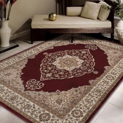 Bazaar Emy Red Ivory 8 Ft X 10 Area Rug 1 Hd2587 215