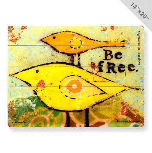 Free Birds Wall Art | Ideas for painting/Art/Crafts | Pinterest ...