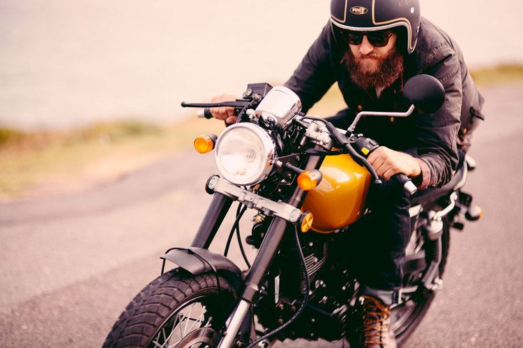 View the Braaap Mercury Standard Cafe racer, Cafe racer