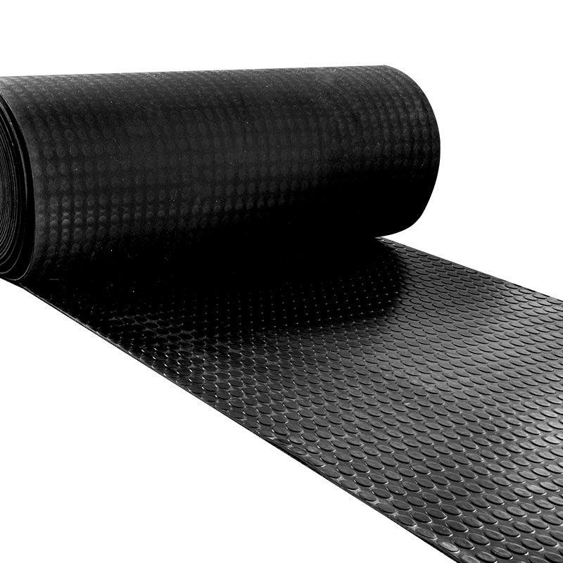 Schön Vollgummi Bodenbelag - Noppen Design. Der Gummiboden hat einen  CE64