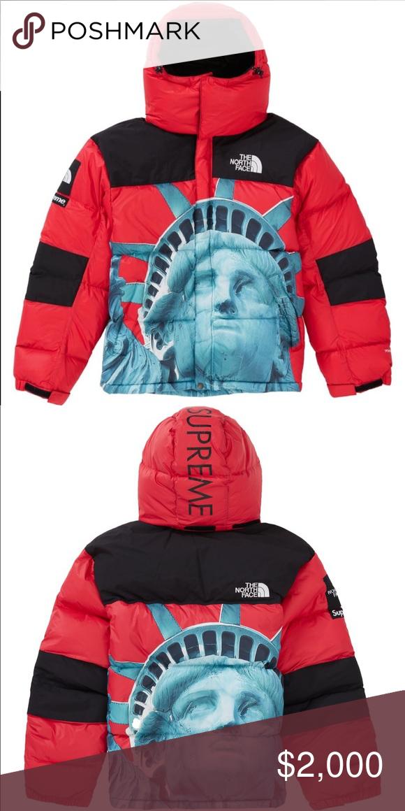 Supreme X The North Face Baltoro Supreme Jackets Coats Puffers In 2020 North Face Jacket Jackets The North Face