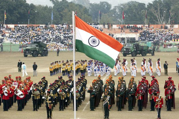 Flag Hoisting On Republic Day Independence Day India Images Republic Day India Republic Day Images Hd
