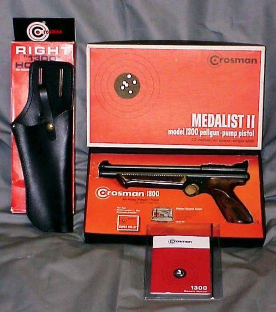 Crosman Vintage Model Medalist II 1300 Single Shot Pump