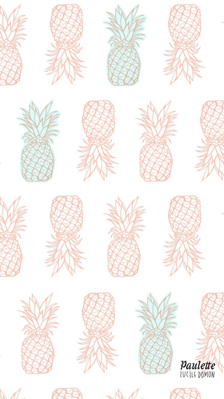 Pineapples Iphone Wallpaper Ipad Wallpaper Watercolor Iphone Wallpaper Flower Phone Wallpaper