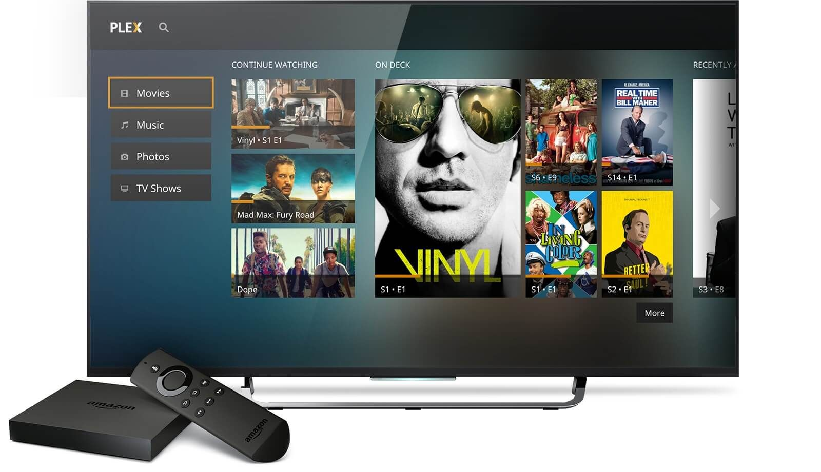 Amazon Fire TV Media Server 4K content via Plex Amazon