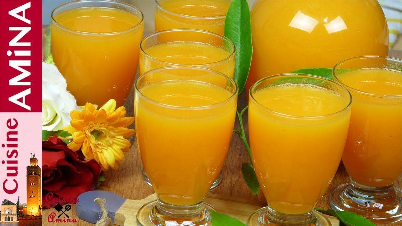 عصير جد بسيط بالبرتقال و الجزر بكمية جد وفيرة لذييذ جدا عصائر رمضان Youtube Alcoholic Drinks Glassware Alcohol