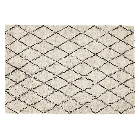 John Lewis Diamond Berber Rug Online At Johnlewis Com
