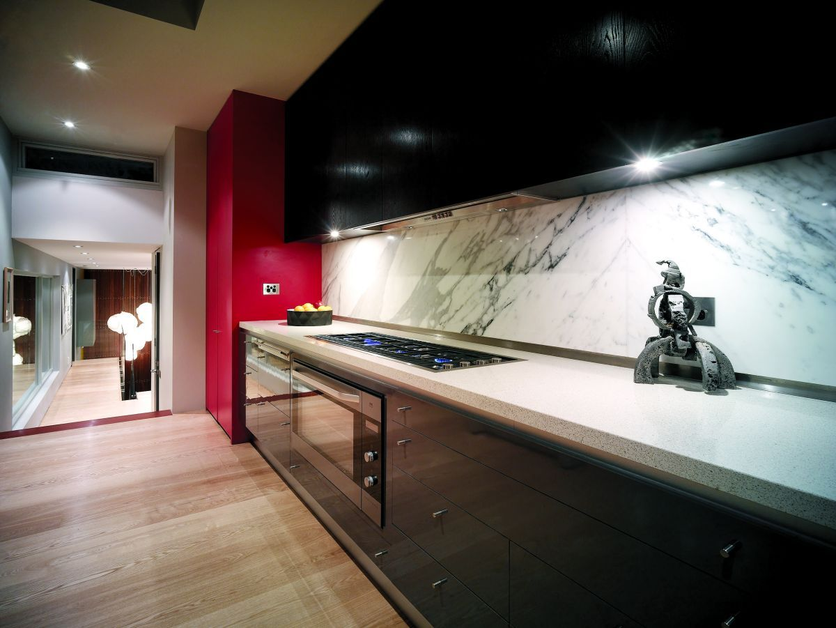 Black And Red Kitchen Rh 080311 07 Home Improvements Pinterest Home Interior