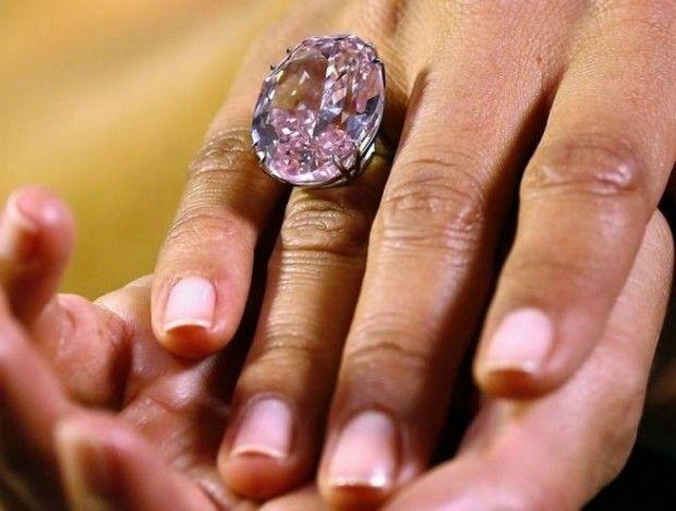 The Pink Star Diamond $60,000,000