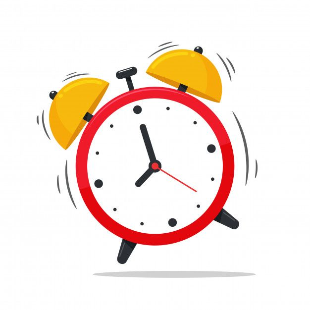 Alarm Clock Icon Alarm Clock That Sounds Loudly In The Morning To Wake Up From Bed Jam Alarm Ikon Ilustrasi Ikon