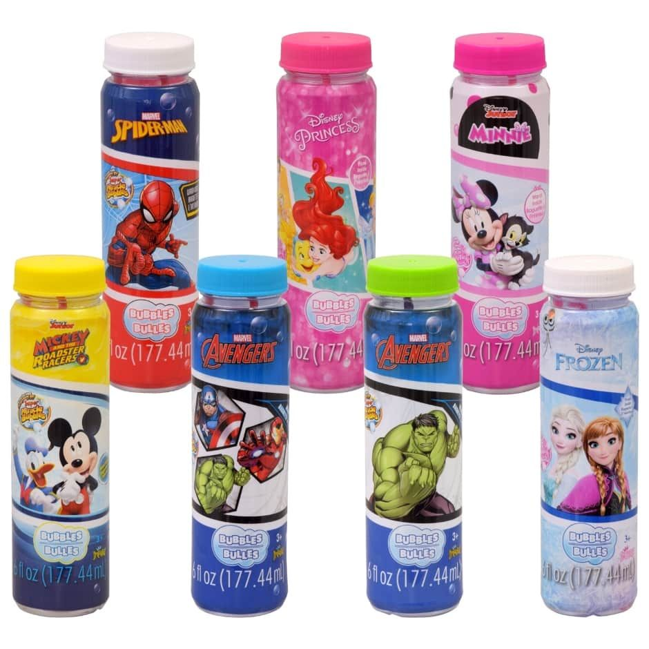 Imperial Licensed Character Bubbles with Wands, 6 oz ...