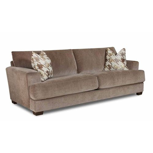 Coble Deluxe Taupe X-Long Sofa     40 1/2 w x    36 1/2 H x 96.5D  bellacor.com