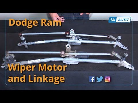 How To Replace Window Wiper Motor