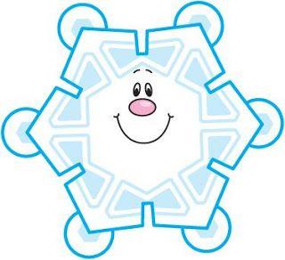 Imagenes copos nieve para imprimir