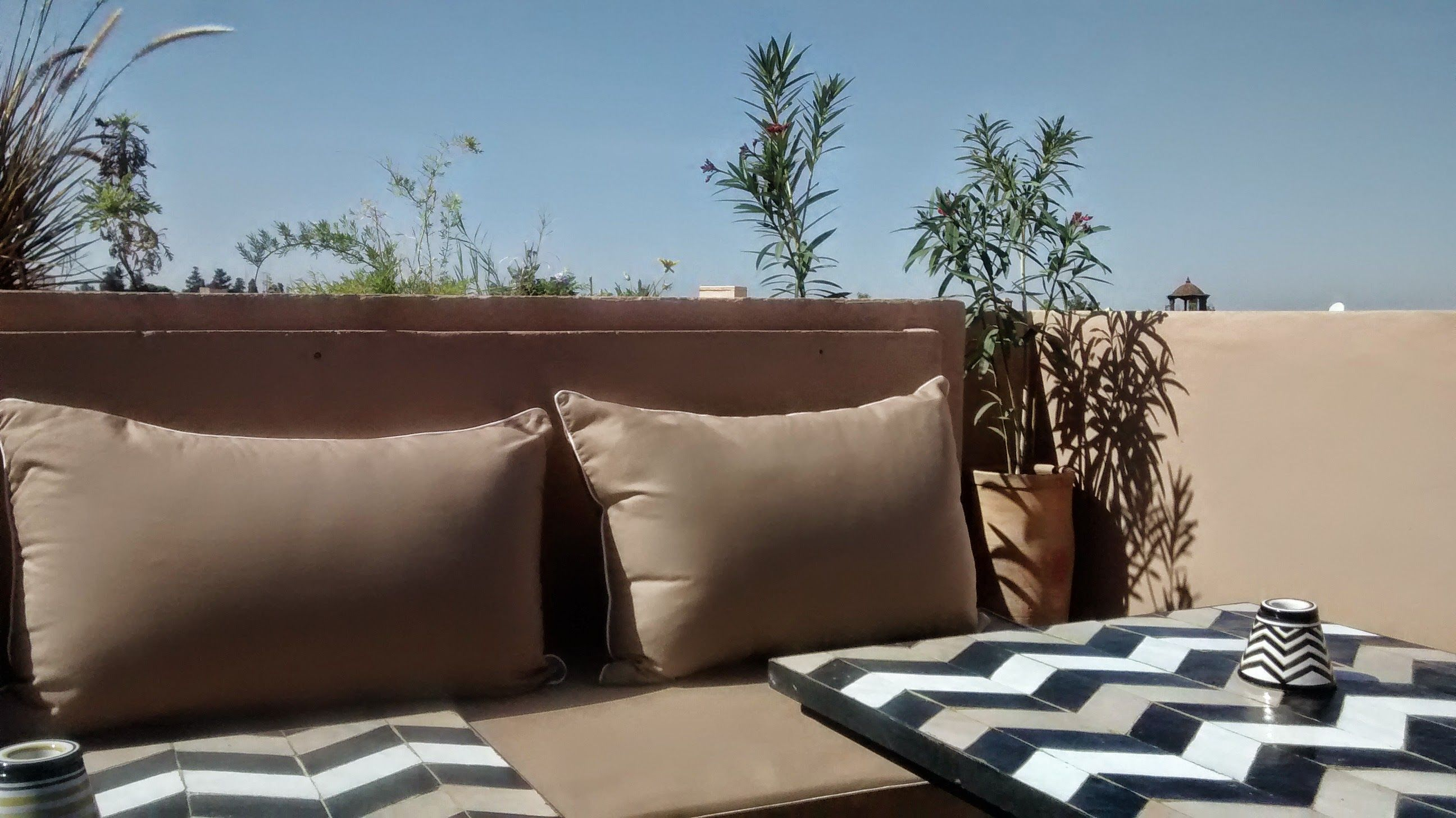 Nomad Restaurant Marrakech Serves Delicious Modern Moroccan Dishes Superbly Located In A Corner Of The
