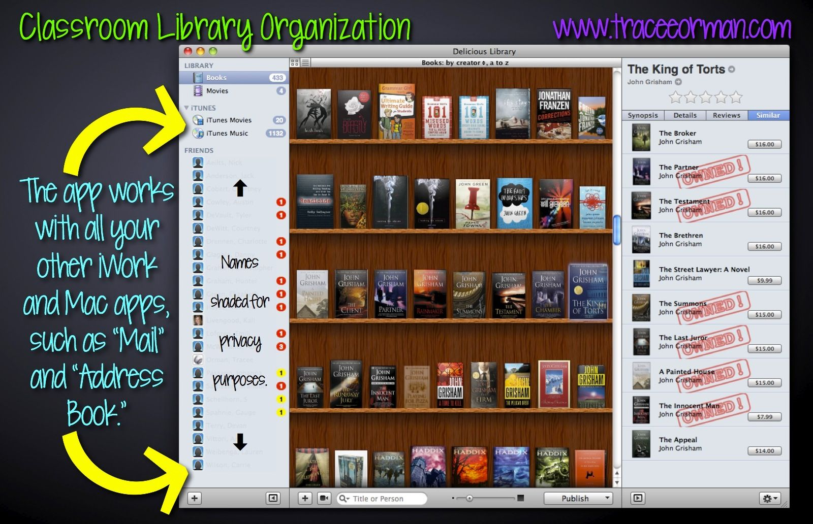 Organizing Your Classroom Library A Delicious Solution