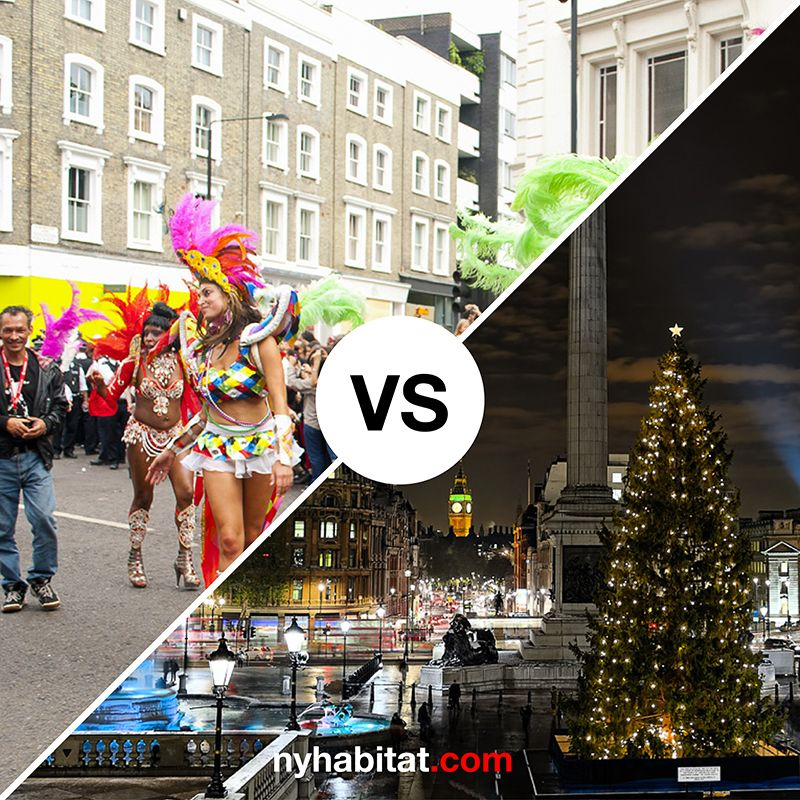 Which is better, #summer or #winter in #London? http://www.nyhabitat.com/