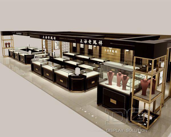 Je54 Design Of Jewellery Showroom Furniture New Store Jewellery
