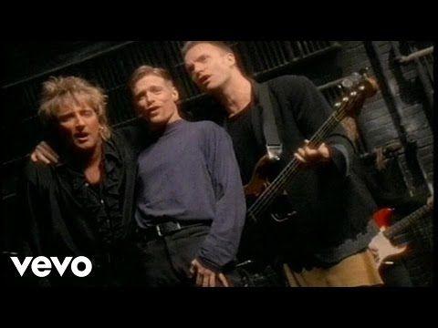 Bryan Adams Rod Stewart Sting All For Love Bryan Adams Music Videos Vevo Rod Stewart