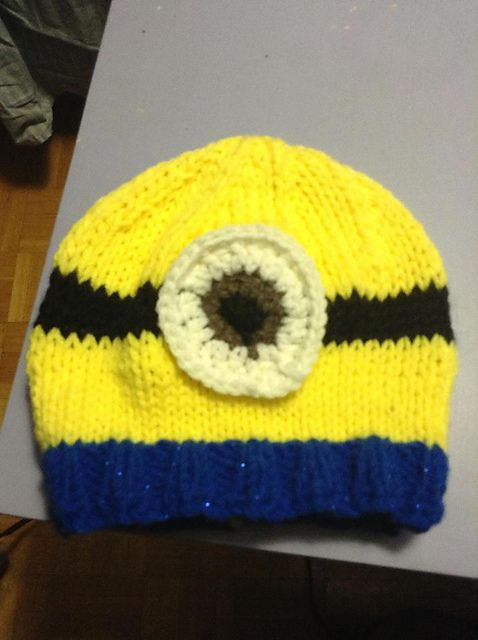 Ravelry Minion Hat Pattern By Gabrielle S Knit And Crochet