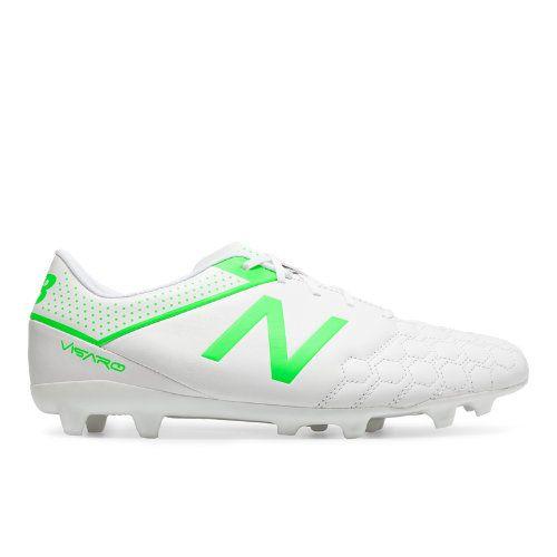 Visaro Liga Full Grain FG Men s Soccer Shoes - White Green (MSVRLFWF) 3c2cdb8a86823