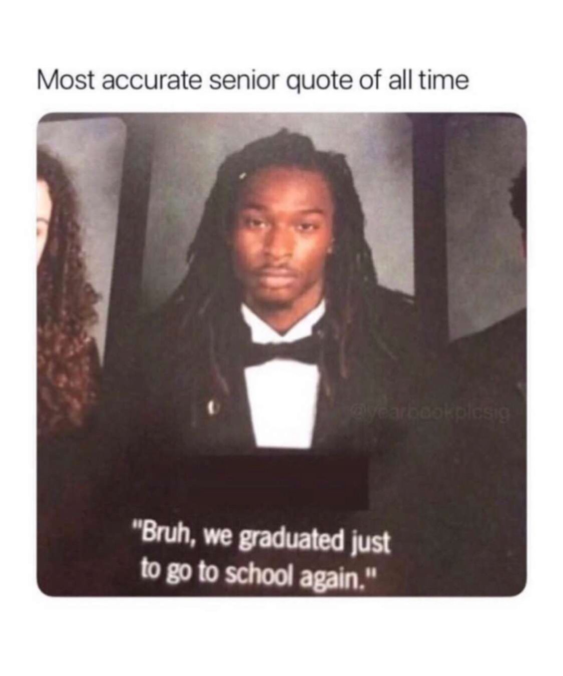 #funny #memes   Graduation quotes funny, Funny yearbook ...