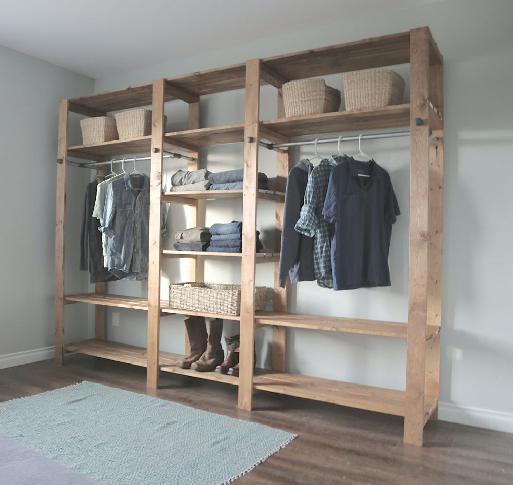 amusing diy closet shelves | interior | pinterest