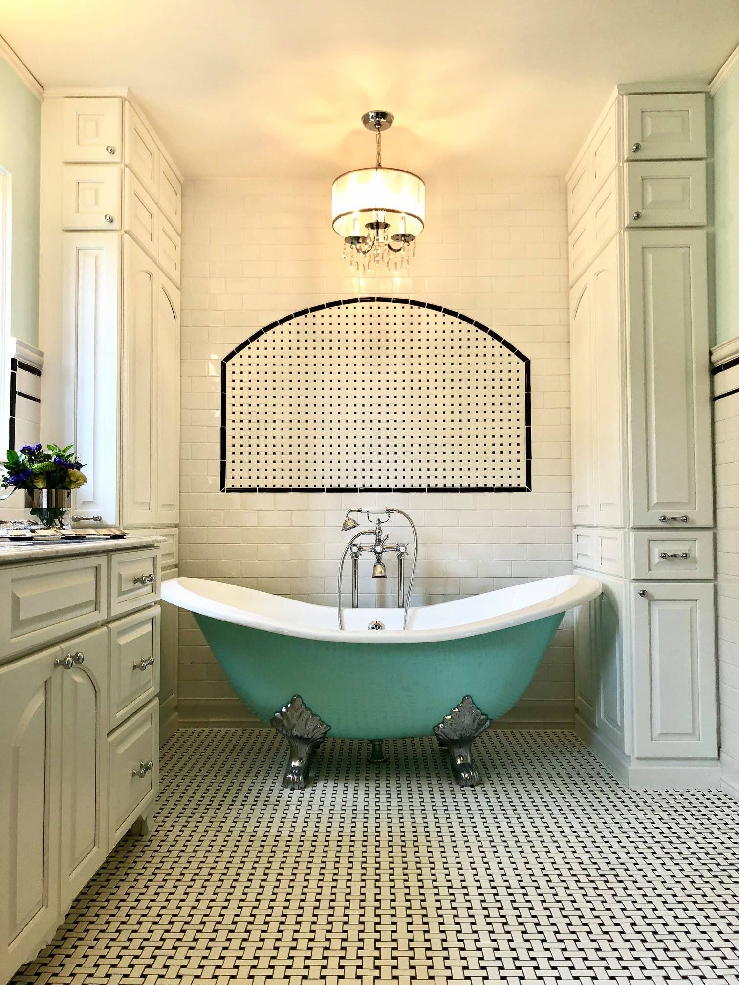 how to remove a cast iron tub from a small bathroom