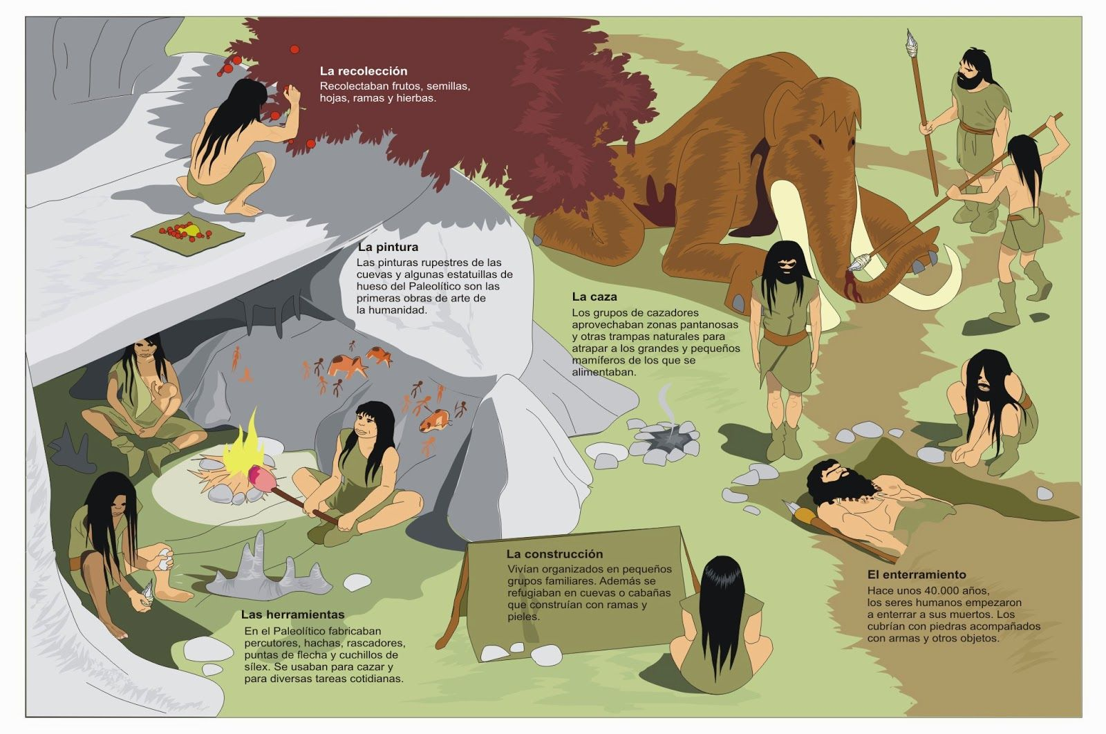 Profesor de Historia, Geografía y Arte: Prehistoria: el Paleolítico ...