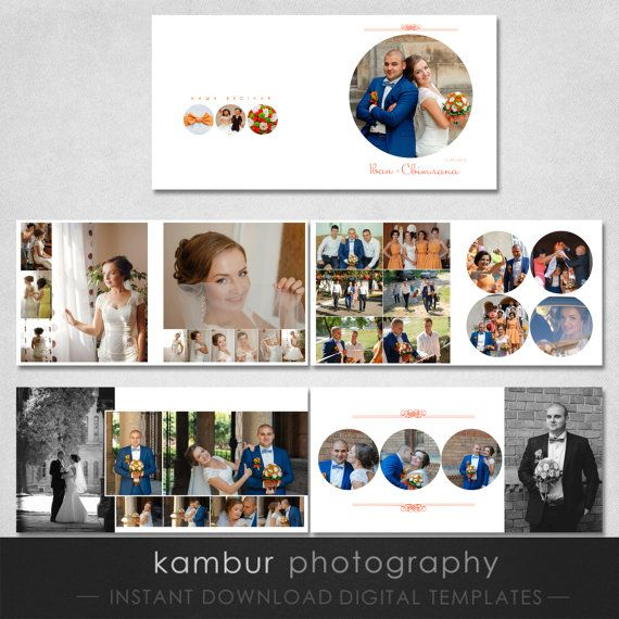 12x12 10x10 Psd 28 Pages Wedding Album Template 14 Etsy Wedding Album Templates Wedding Album Album Design
