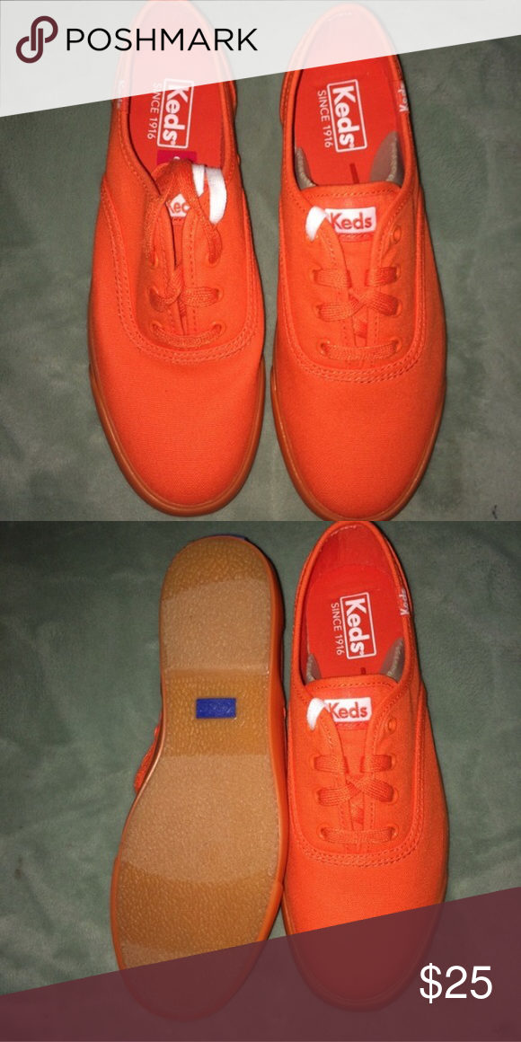 NWOT Orange KEDS in Box NWOT orange KEDS in box Keds Shoes Sneakers