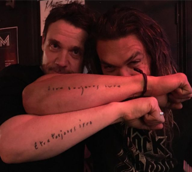 Jason Momoa - The former Game of Thrones star has a tattoo ...