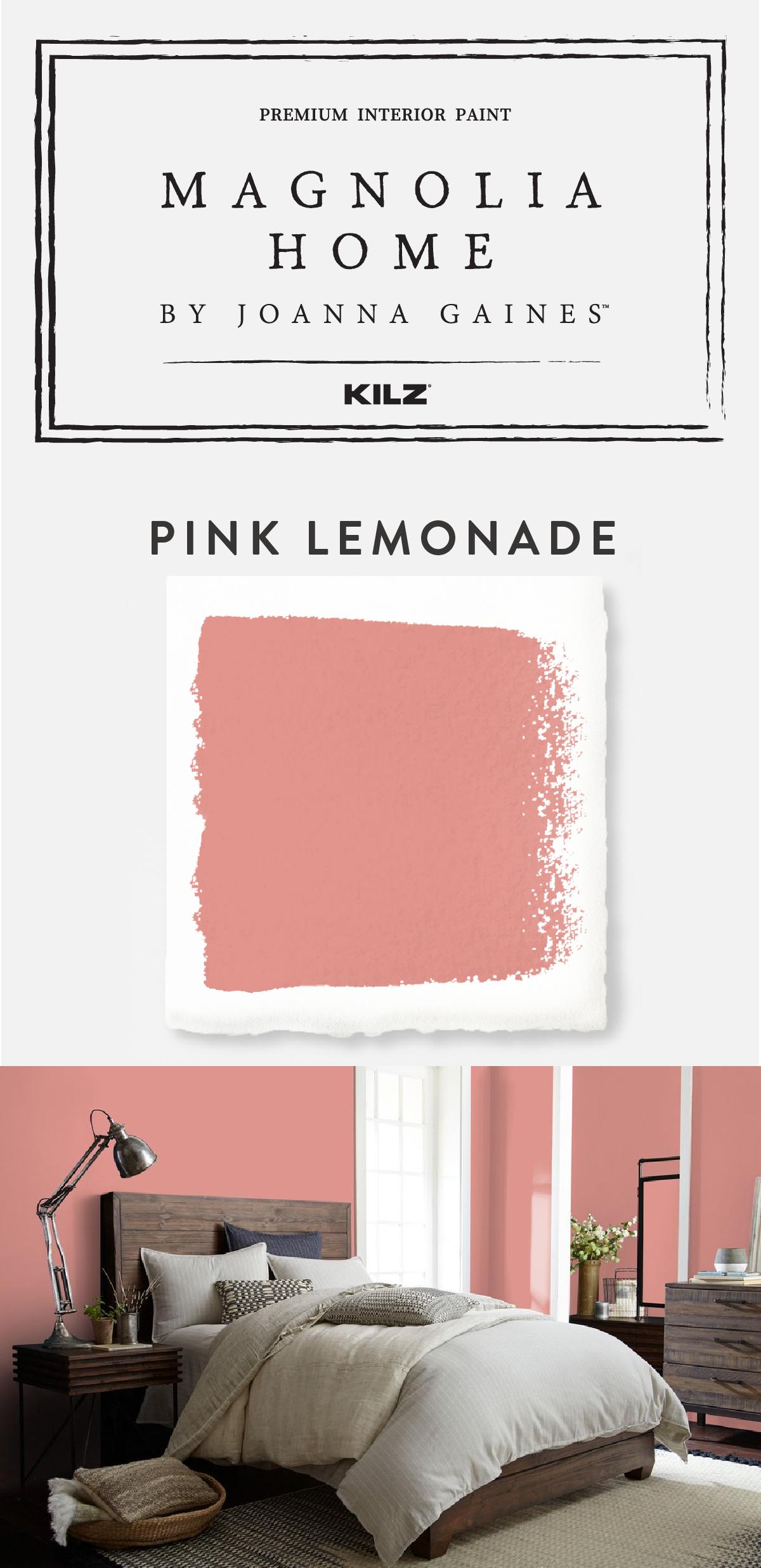 Pink Lemonade | Magnolia Home | Pinterest | Modern paint colors ...