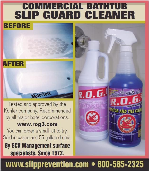 Fiberglass And Non Skid Cleaner At Last A Cleaner That Is