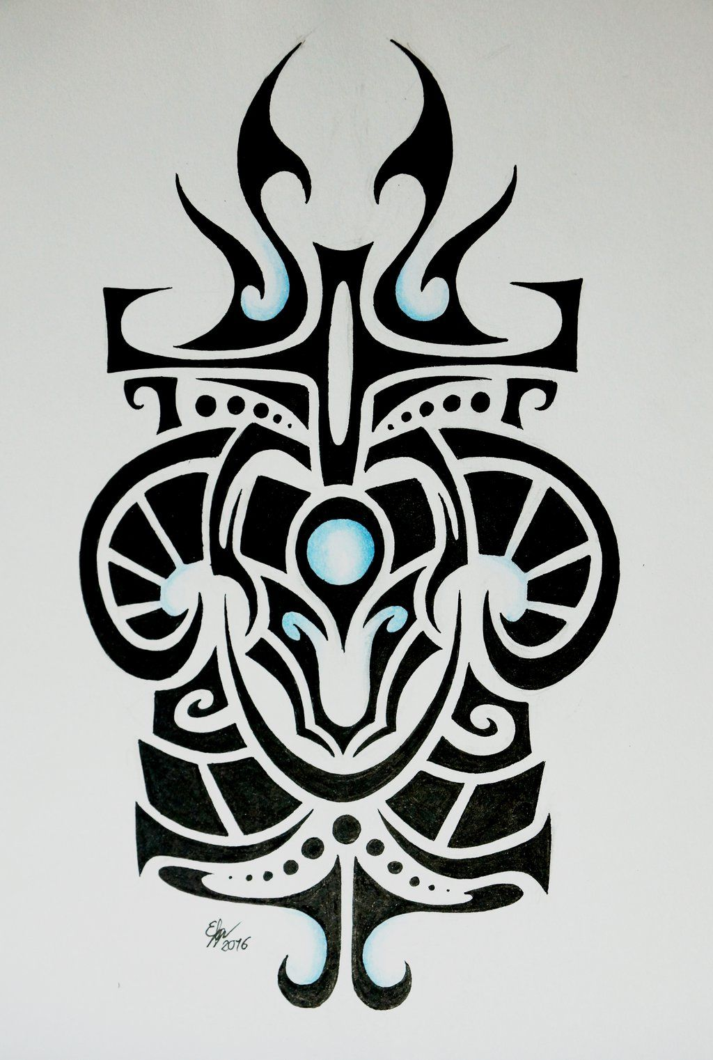 Braums Shield Tribal by Esmeekramer on DeviantArt | Nerdy