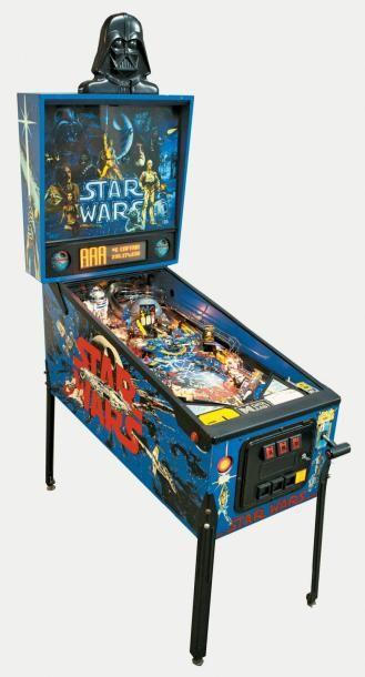 Flipper Star Wars Flipper Electronique Quatre Joueurs De