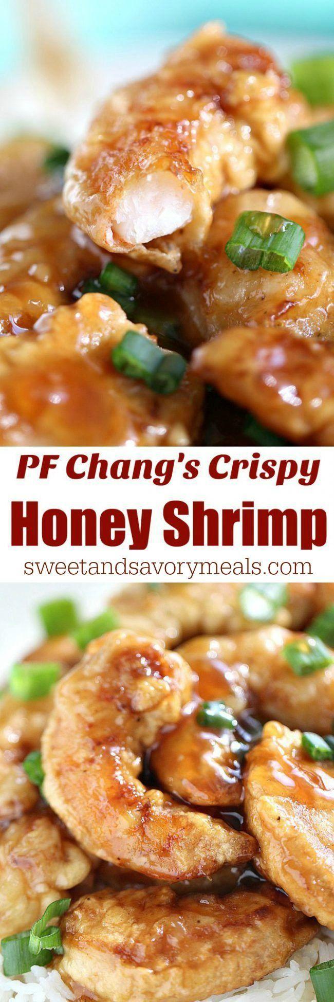 pf chang's crispy honey shrimp copycat - sweet and savory