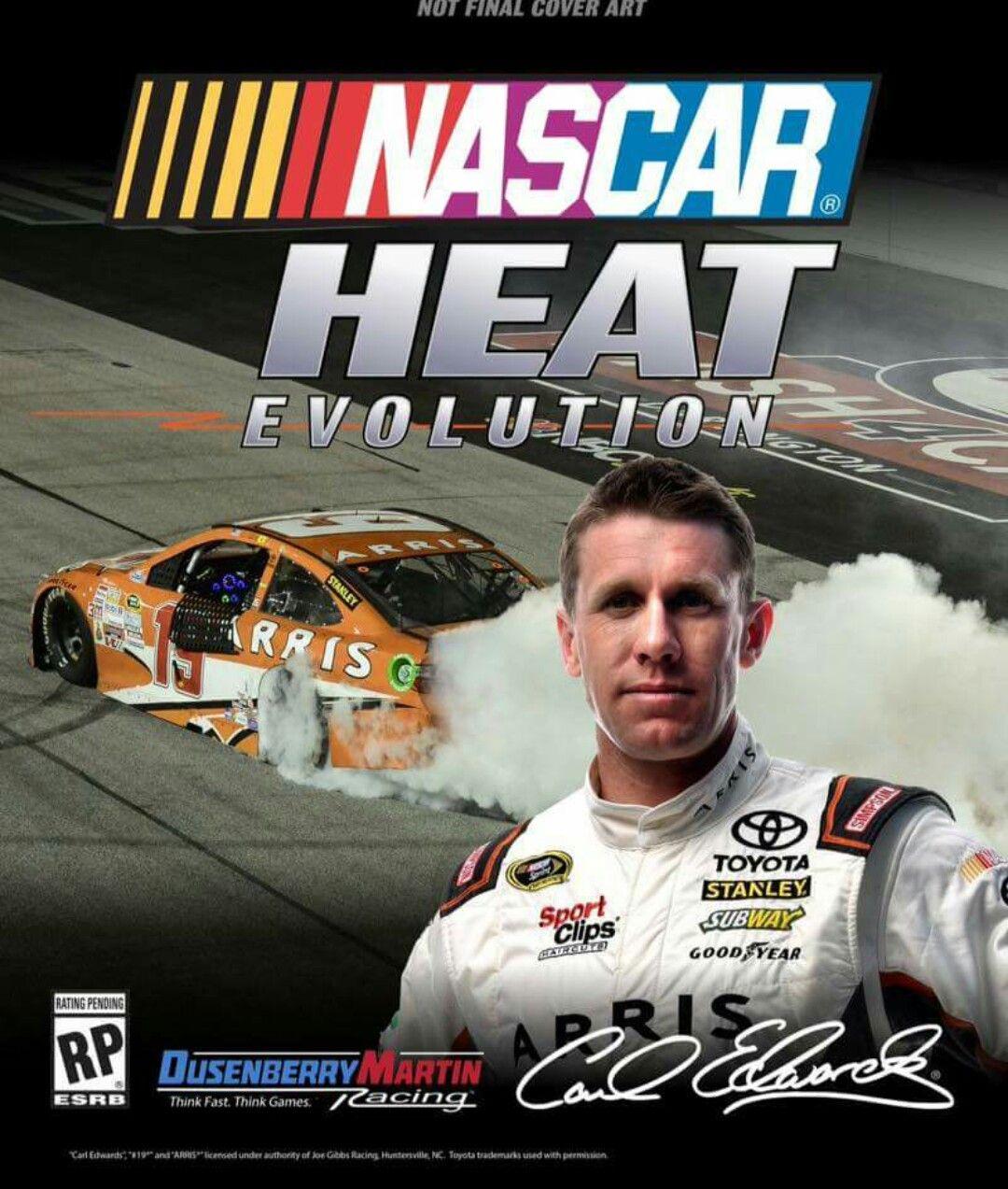 Carl Edwards, 19 Nascar heat, Nascar, Evolution