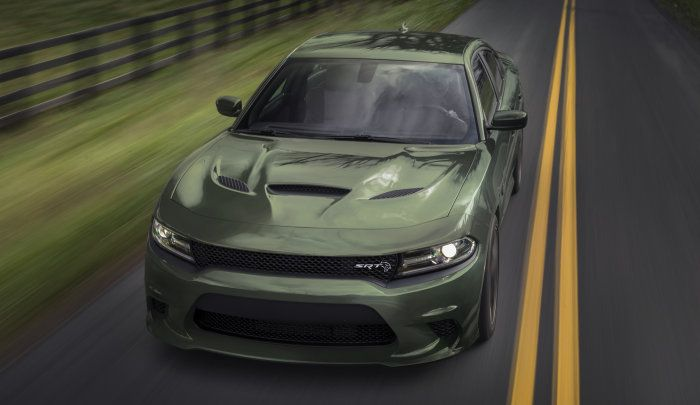 I Know Its Not A Challenger But Dang That F8 Green Srt Dodge Charger Hellcat Looks Sweet Dodge Charger Hellcat Dodge Charger Hellcat