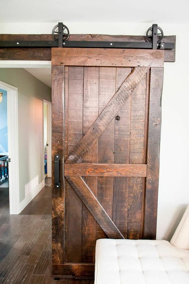 This was one of my favorite features we implemented on the reno during this episode of #PropertyBrothers. Would you want a door like this in your home? & Room Transformations from the Property Brothers | Doors Barn doors ...