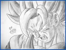 Resultado De Imagen De Goku Para Dibujar A Lapiz Facil Heroe