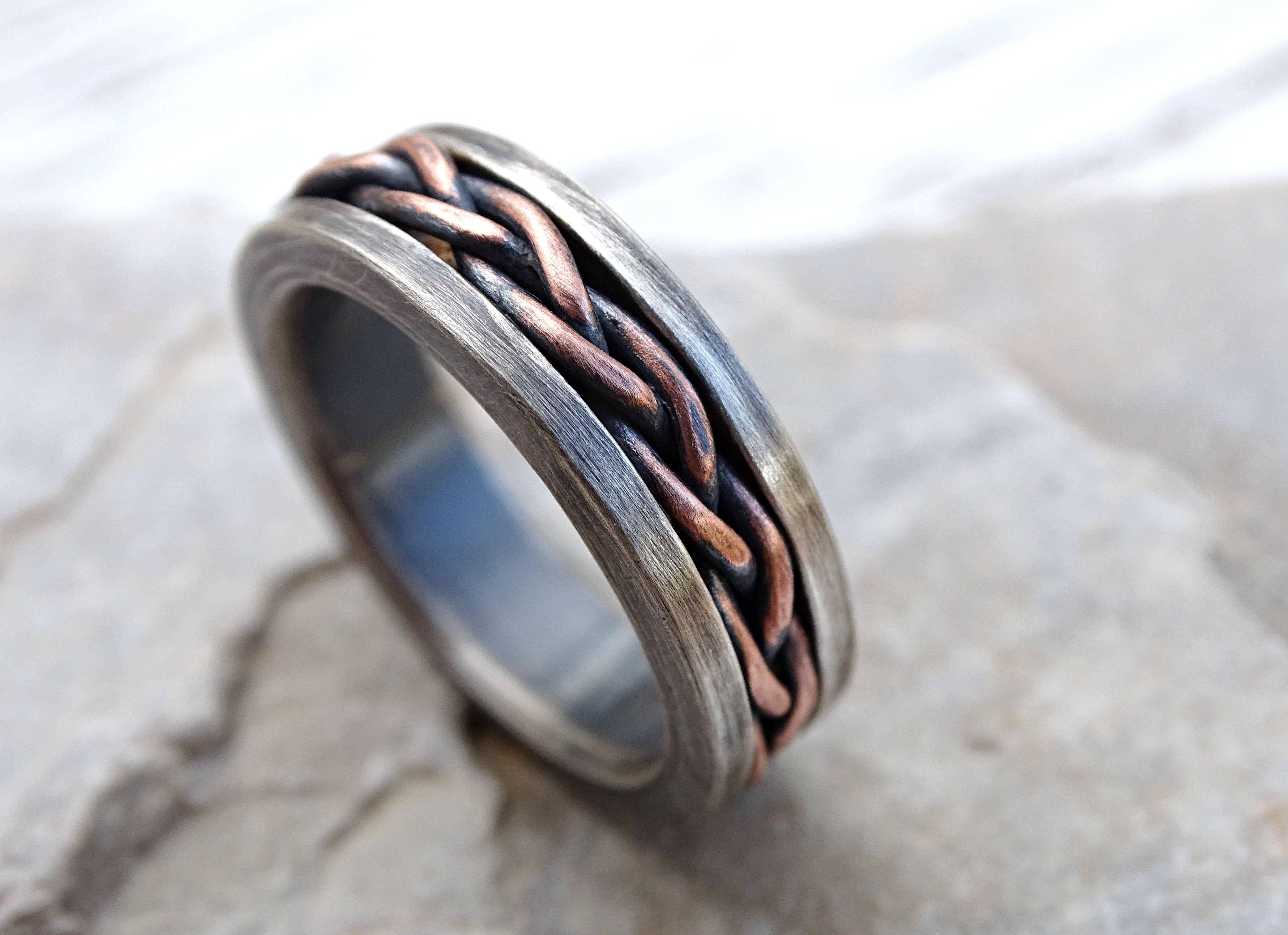 15 Ideen Die Wikinger Hochzeit Bands Verlobungsringe