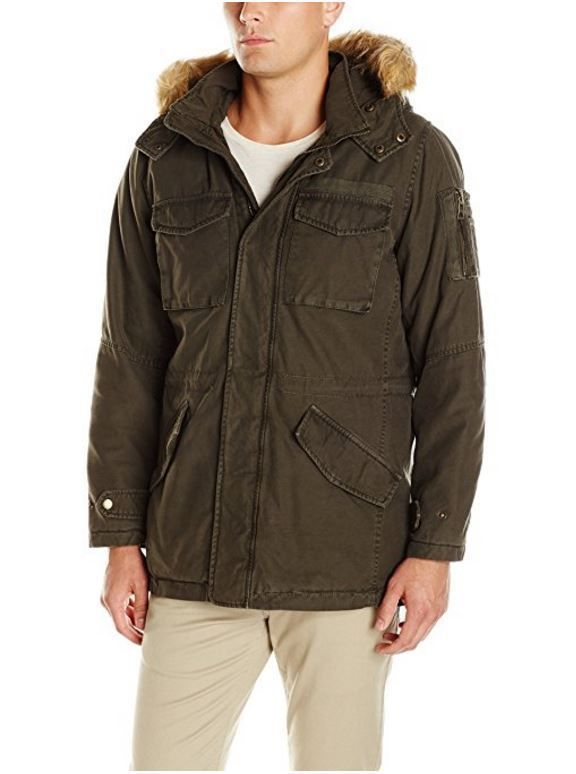 RFT by Rainforest Mens Cavalry Twill Classic CEO Coat