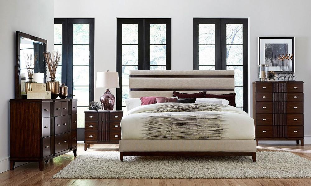 Pelmar Upholstered Bedroom Set With Images Upholstered Bedroom