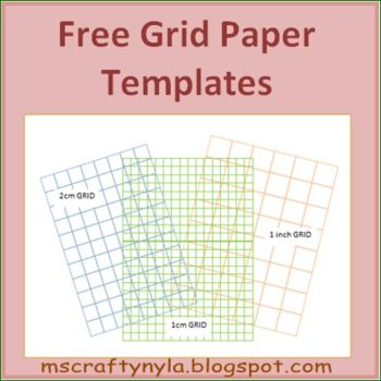 Math Grid Paper Template Free Grid Paper Templates #math  Education  Pinterest  Symmetry .