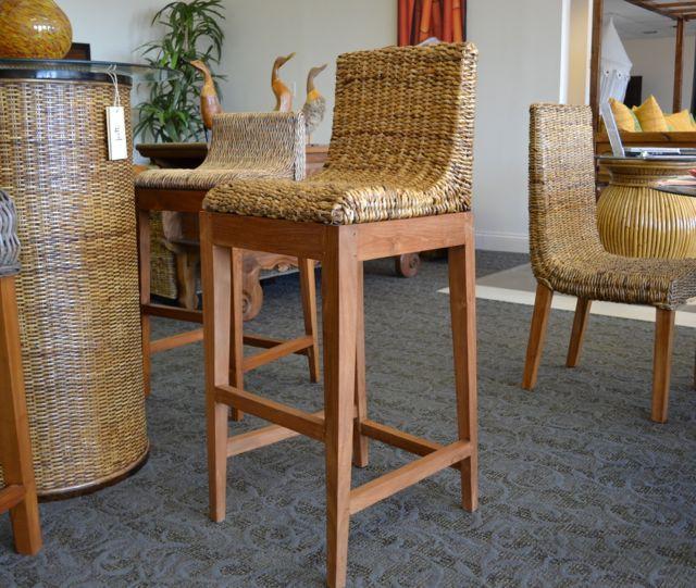 ABACA BARSTOOL   Wicker Barstool   Rattan   Abaca Furniture   Teak U0026 Abaca  Bar Chair