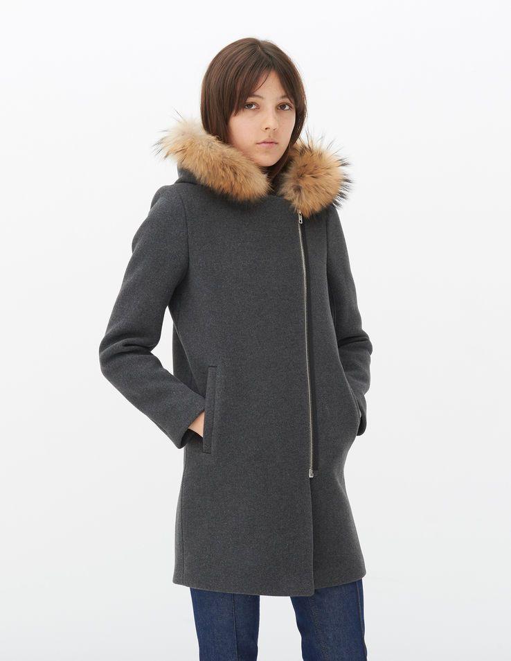 45b5eadb0 Mary Coat - Coats - Sandro Paris | Wardrobe Wishlist | Coat, Sandro ...